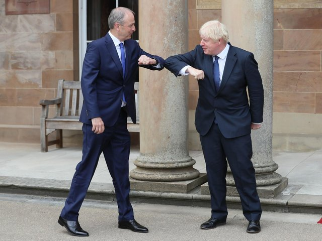 PHYSICAL GREETING: Is the ridiculous elbow tap here to stay? Photo: Getty Images